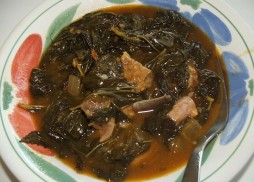 Molohiya cooked dish