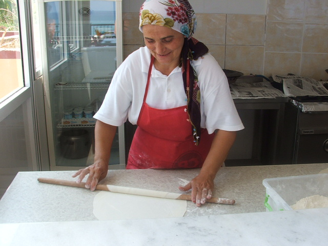 Using the Turkish Rolling Pin