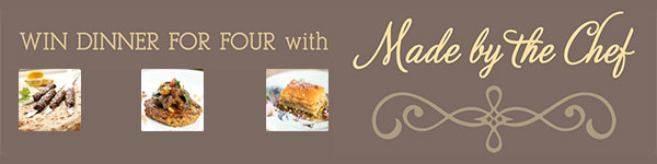 WIN Dinner for 4 with a Private Chef from Made by the Chef